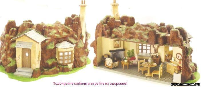 Строим домик крота Sylvanian families