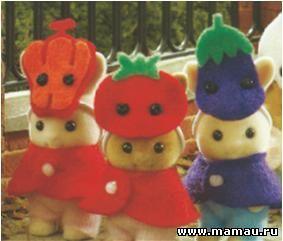 Фестивальные костюмы Sylvanian families